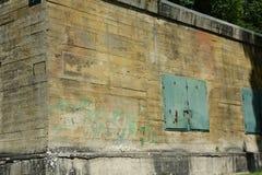 Бункер Гитлера в Margival, Эне, Picardie в севере Франции стоковые изображения