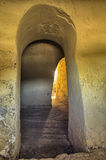 Бункер гражданской войны стоковое изображение