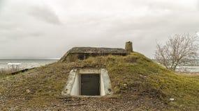 Бункер океаном стоковые фотографии rf
