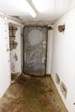 Бункер WW2 в Германии в подполье Стоковое Фото