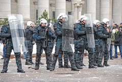 бунт Литвы Стоковая Фотография