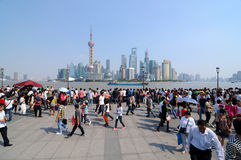 Бунд Шанхая стоковые фотографии rf