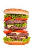 4 бургера Стоковая Фотография