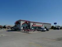 Бургеры гаража & пиво, Оклахомаа-Сити, О'КЕЙ Стоковые Изображения RF