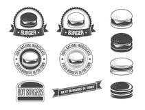 Бургеры Стоковые Изображения RF