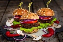 Бургеры Vegan Стоковое Фото
