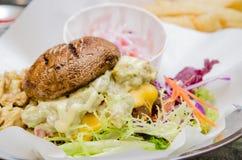 Бургер гриба Стоковое фото RF