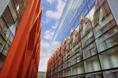 БУРГОС 18-ОЕ МАРТА: Музей эволюции человека в Бургосе, Испании 18-ого марта 2013. Музей на предмете эволюции человека, Стоковая Фотография RF