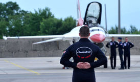Буревестники военновоздушной силы Соединенных Штатов Стоковые Изображения
