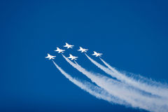 буревестник 16 реактивных истребителей f Стоковая Фотография