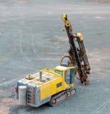 Бурильщик в шахте карьера индустрия земли andalusia повреждает минируя Испанию стоковое фото