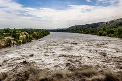 бурная вода Стоковые Изображения RF
