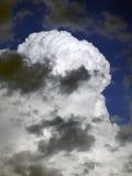 Бурная фотография облаков Стоковые Фотографии RF