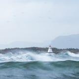 бурное море Стоковые Фото