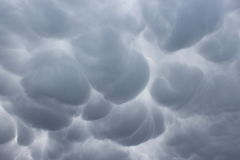 Бурное небо над Шаг-de-Кале Стоковая Фотография