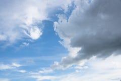 Бурное облако Стоковая Фотография