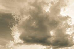 Бурное облако Стоковые Изображения