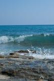 бурные волны Стоковая Фотография