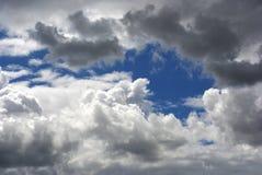 Бурные облака Стоковое фото RF