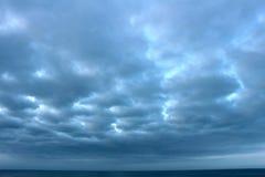 бурный восход солнца Стоковая Фотография