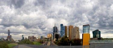 Бурный Мельбурн Стоковые Фотографии RF