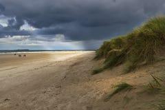 Бурный пляж Стоковое Изображение
