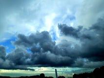 Бурный сезон стоковое изображение rf