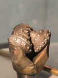 Буровой наконечник буровой вышки Стоковая Фотография