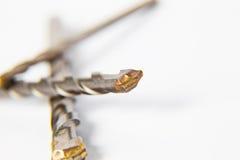 Буровой наконечник для кирпича и конкретного сверла Стоковые Изображения RF