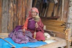 Бутан, люди стоковые фотографии rf