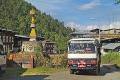 Бутан, Trashigang, Стоковая Фотография