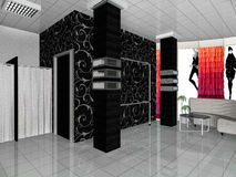 Бутик магазина Стоковая Фотография RF