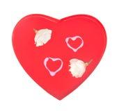 2 бутона и 2 сердца Стоковая Фотография RF