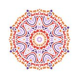 Бутон калейдоскопа большой Восточная иллюстрация картины playnig света цветка предпосылки Стоковая Фотография RF