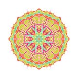 Бутон калейдоскопа большой Восточная иллюстрация картины playnig света цветка предпосылки Стоковые Изображения