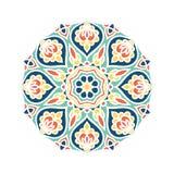 Бутон калейдоскопа большой Восточная иллюстрация картины playnig света цветка предпосылки Стоковое Изображение