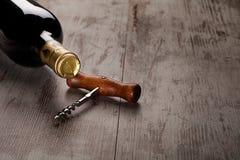 Бутылка вина Стоковые Изображения