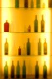 бутылка запачканная предпосылкой Стоковое Изображение RF