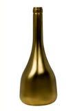 бутылка золотистая Стоковая Фотография