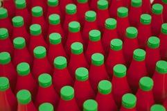 Бутылка кетчуп Стоковое Изображение