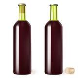 Бутылка красного вина бесплатная иллюстрация