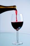 бутылка красное вино Стоковые Фото