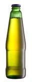 Бутылка пива зеленого стекла Стоковые Фото