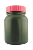 Бутылка пластмассы микстуры Стоковые Фотографии RF