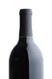 бутылка предпосылки над красным белым вином Стоковое Изображение RF