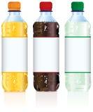 Бутылки безалкогольного напитка Стоковые Фото