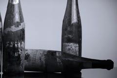 Бутылки вина Murfatlar очень старые, изолированный Стоковые Изображения RF
