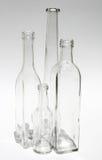 бутылки опорожняют стоковое изображение
