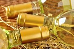 Бутылки точного итальянского белого вина Стоковые Изображения RF