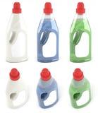 Бутылки умягчителей ткани Стоковое фото RF